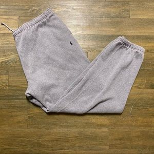 Ralph Lauren Polo Gray Jogger Sweat Pant XL